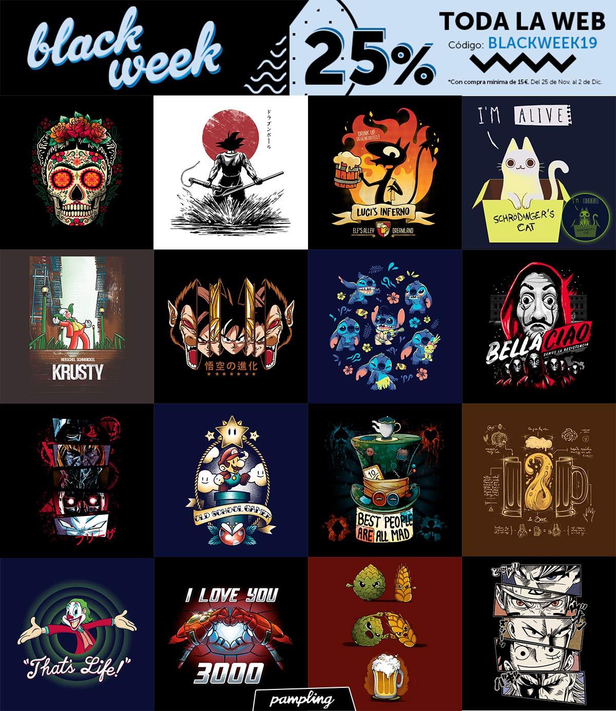 BLACK WEEK    -25% EN TODA LA WEB Y TIENDAS