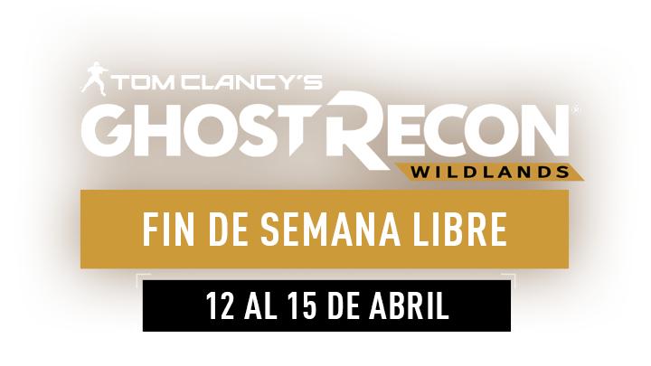 PC, XBOX ONE Y PS4: TOM CLANCY´S GHOST RECON WILDLANDS (Fin de semana gratis)