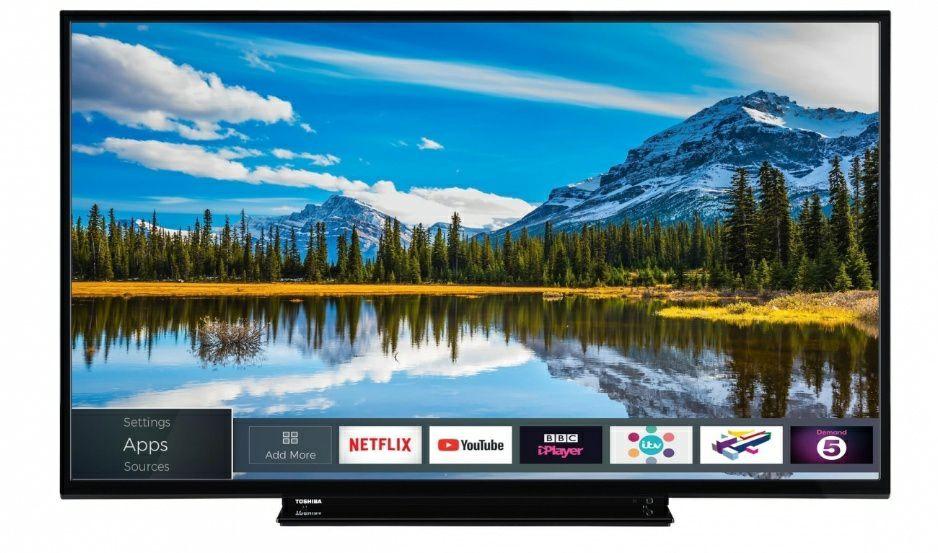 "SMART TV TOSHIBA 49"" FULL HD (Reacondicionado)"