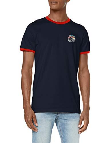 JACK & JONES SS Crew Neck Camiseta para Hombre