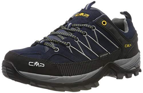 TALLA 40 - CMP Rigel Low Wp, Zapatillas de Senderismo para Hombre