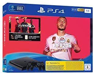 PS4 Slim 1 TB + FIFA 2020 + 2 mandos