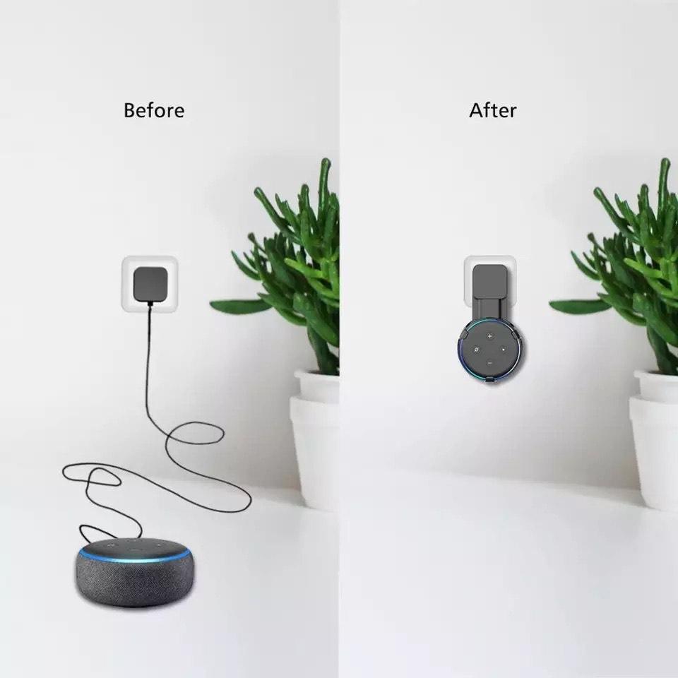 Soporte de montaje en pared para Amazon Alexa Echo Dot 3rd