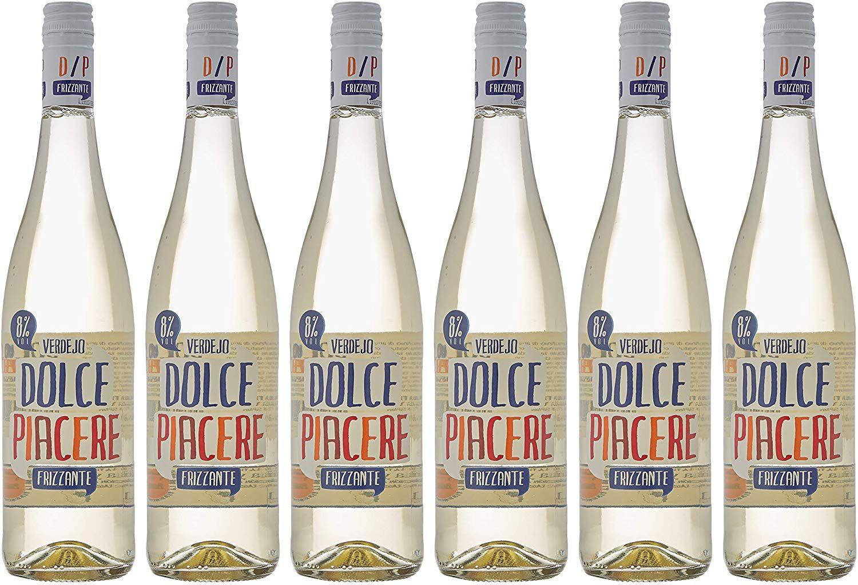 Dolce Piacere Frizzante - 6 Botellas de 750 ml - Total: 4500 ml.