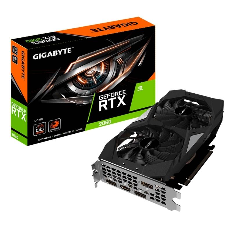 Gigabyte Geforce RTX 2060 OC 6G