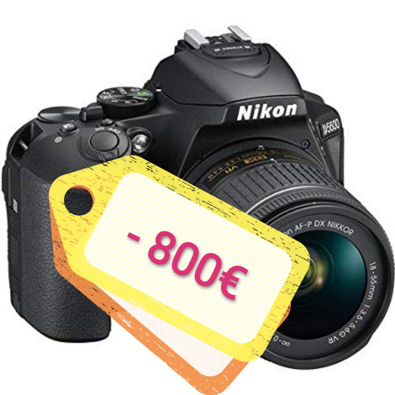 Nikon te regala HASTA 800€ de reembolso