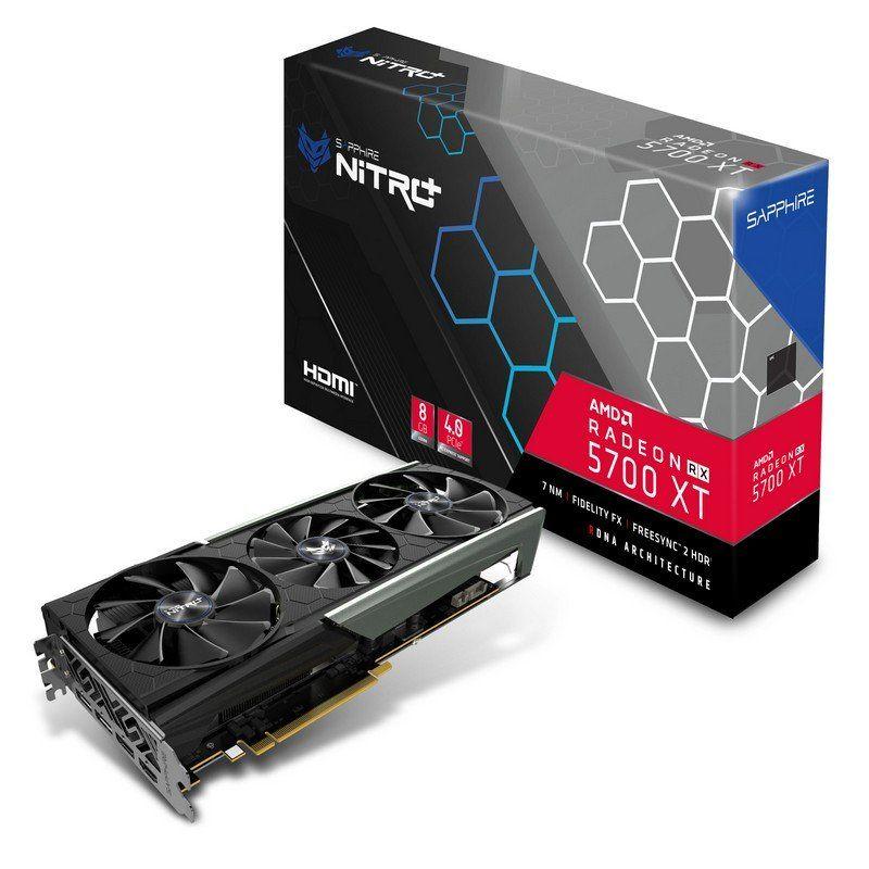 Sapphire Nitro+ Radeon RX 5700 XT 8GB GDDR6 Reacondicionado