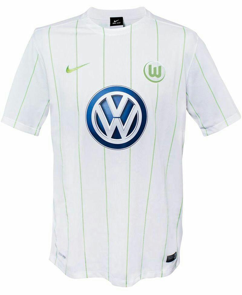 2da equipación - VFL Wolfsburgo 2016-2017 - SOLO TALLA S