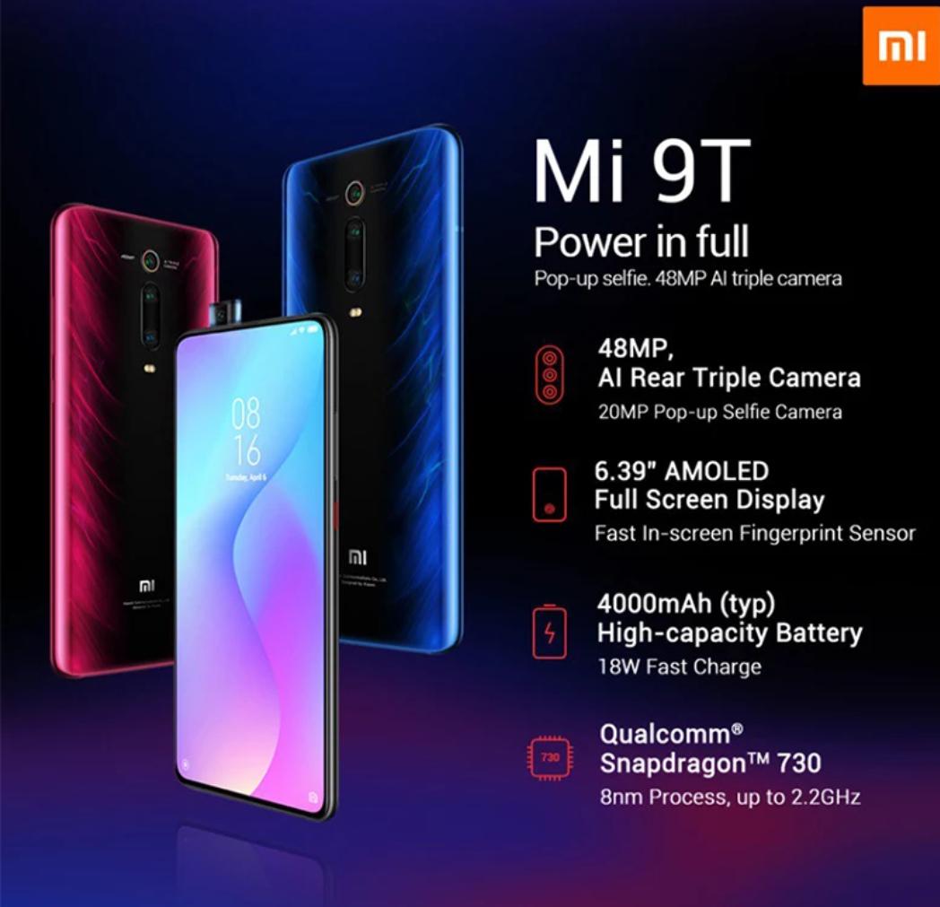 Xiaomi 9T por 241,81€!!