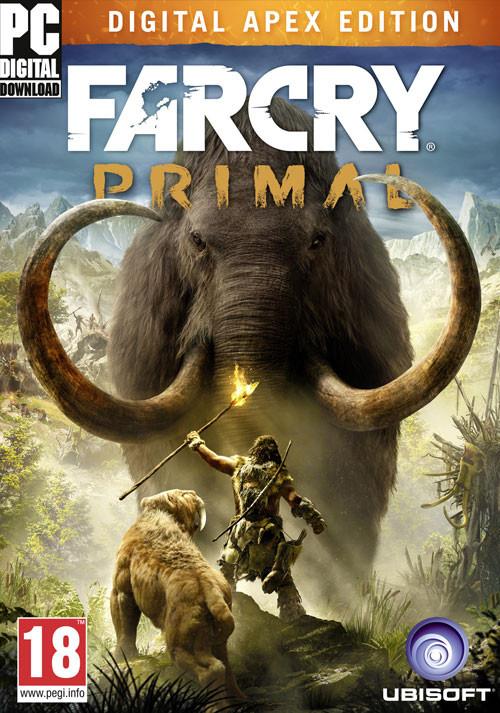 Far Cry Primal Standard y Apex Edition PC