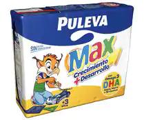 Puleva Max Leche Crecimiento y Desarrollo - 3 x 200 ml