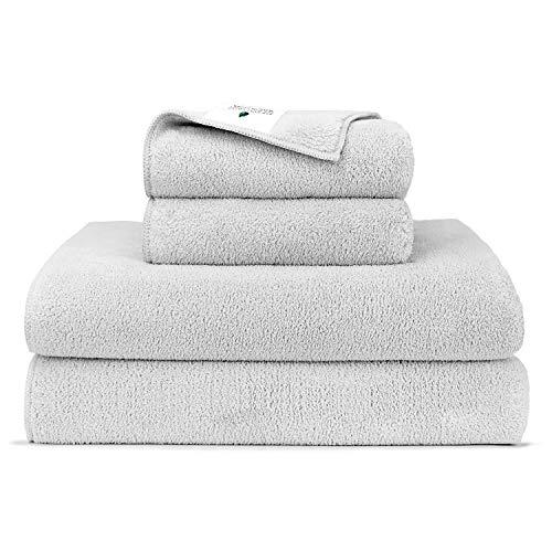 Set de 4 toallas de baño