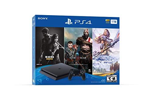 PlayStation 4 Slim 1TB - 3 Juegos + 1 mando