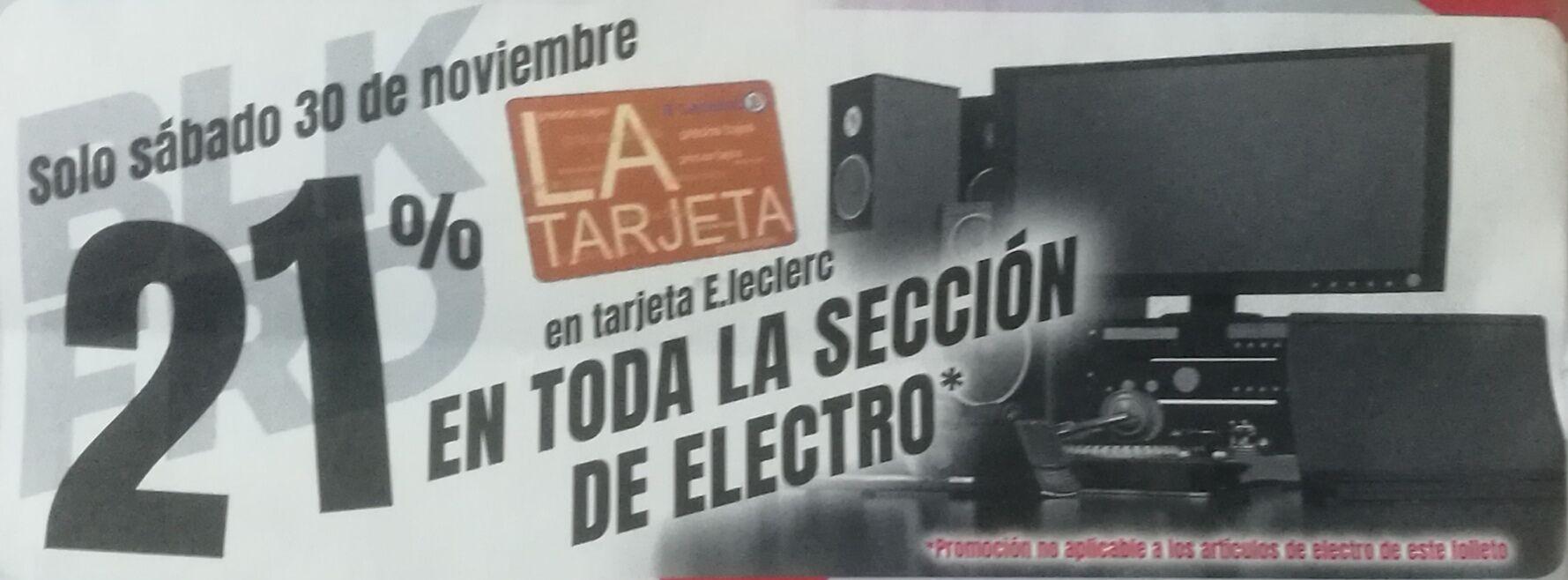-21% en electrónica en E. Lecrerc