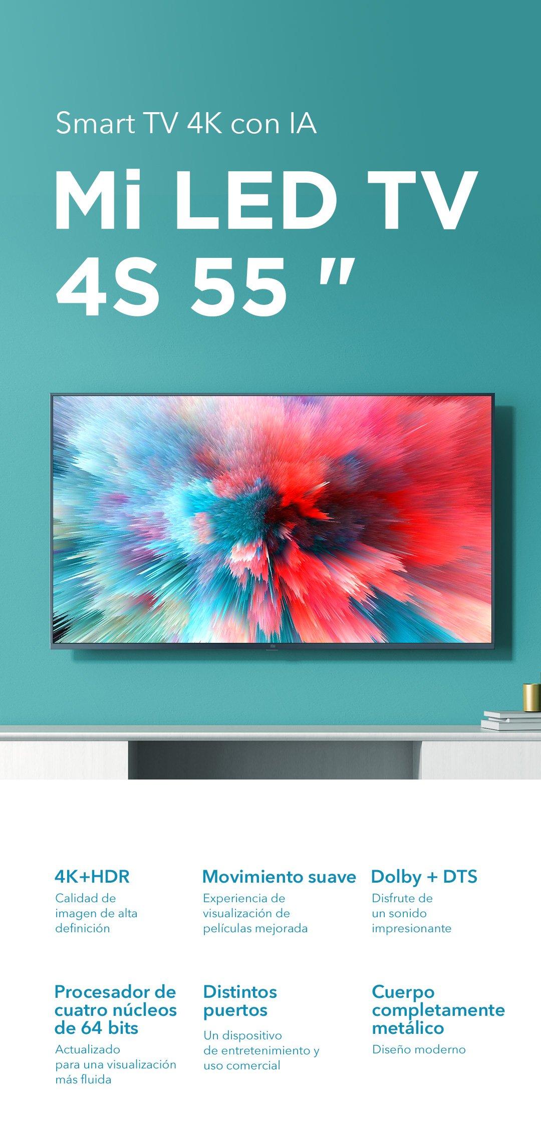 Xiaomi MI TV LED 4S 55 PULGADAS