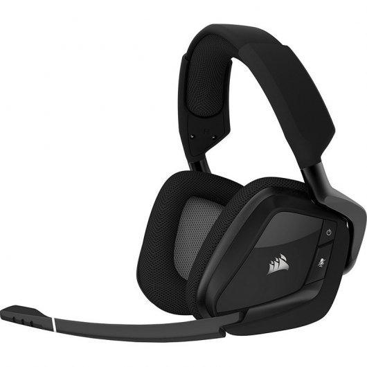 Corsair Void Pro Gaming 7.1 RGB Wireless Negros