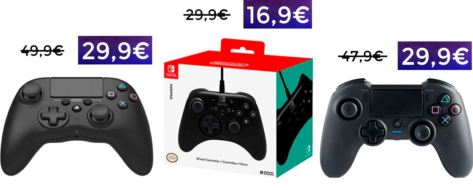 Recopilación de mandos para PS4/PC/Switch en oferta