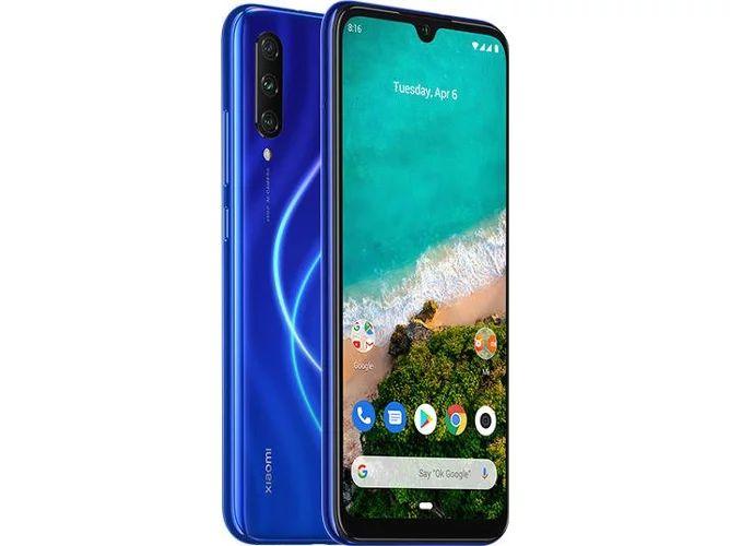 Smartphone XIAOMI Mi A3 (6.08'' - 4 GB - 128 GB - Azul)