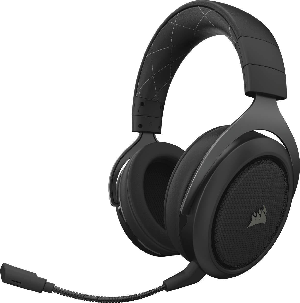 Auriculares Corsair HS70 Wireless Negro (en Game y en Amazon)