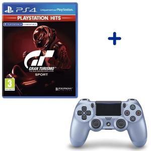 Pack Dualshock 2 V2 + GT Sport