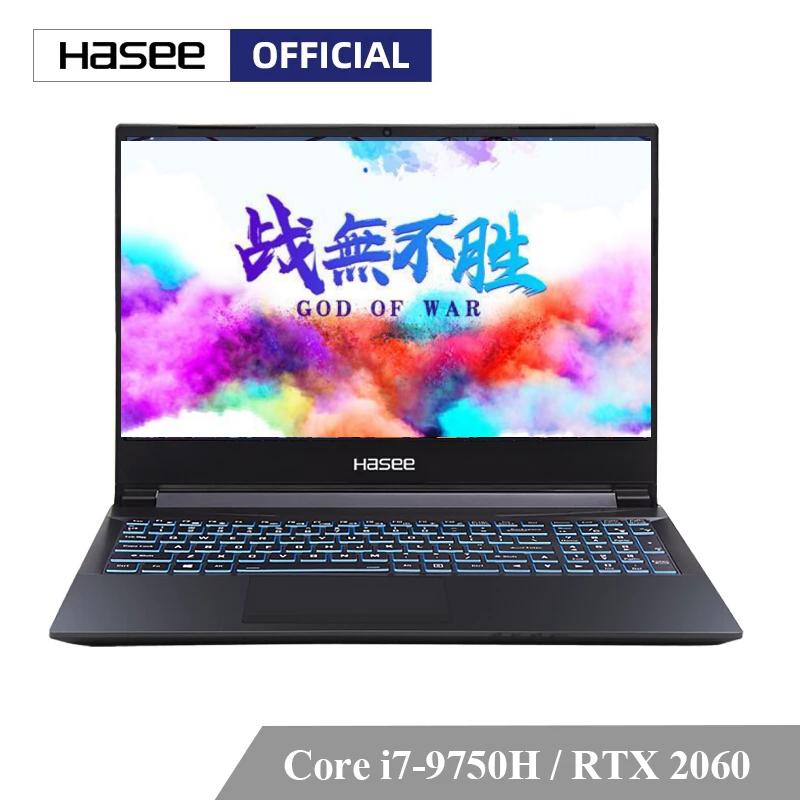 Hasee Z8-CT7NA Intel Core I7-9750H + RTX 2060/8GB RAM/512G SSD/15,6