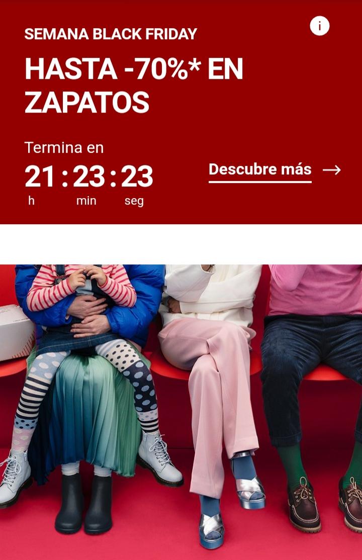 OFERTAS HASTA EL 70% EN ZAPATILLAS