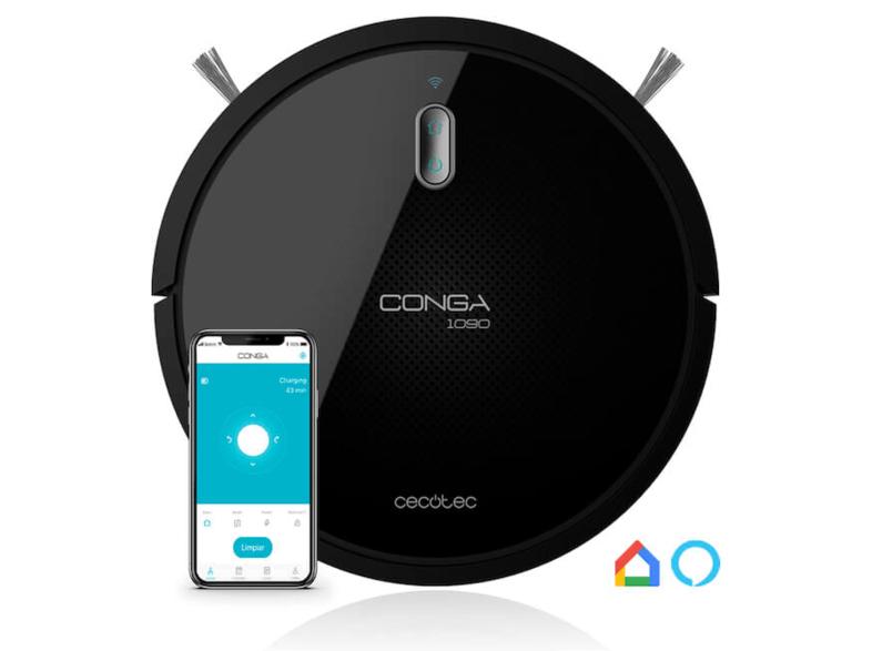 Robot Conga 1090 Connected Compatible con Alexa y Google Home por 149€