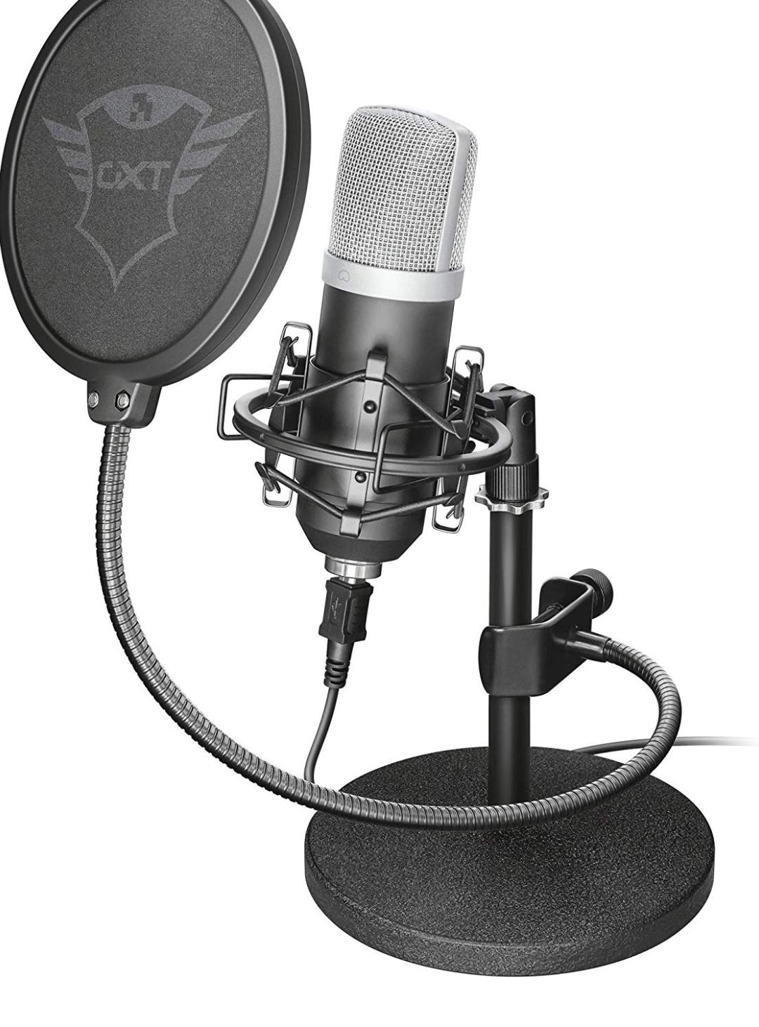 Micrófono con trípode Trust Emita