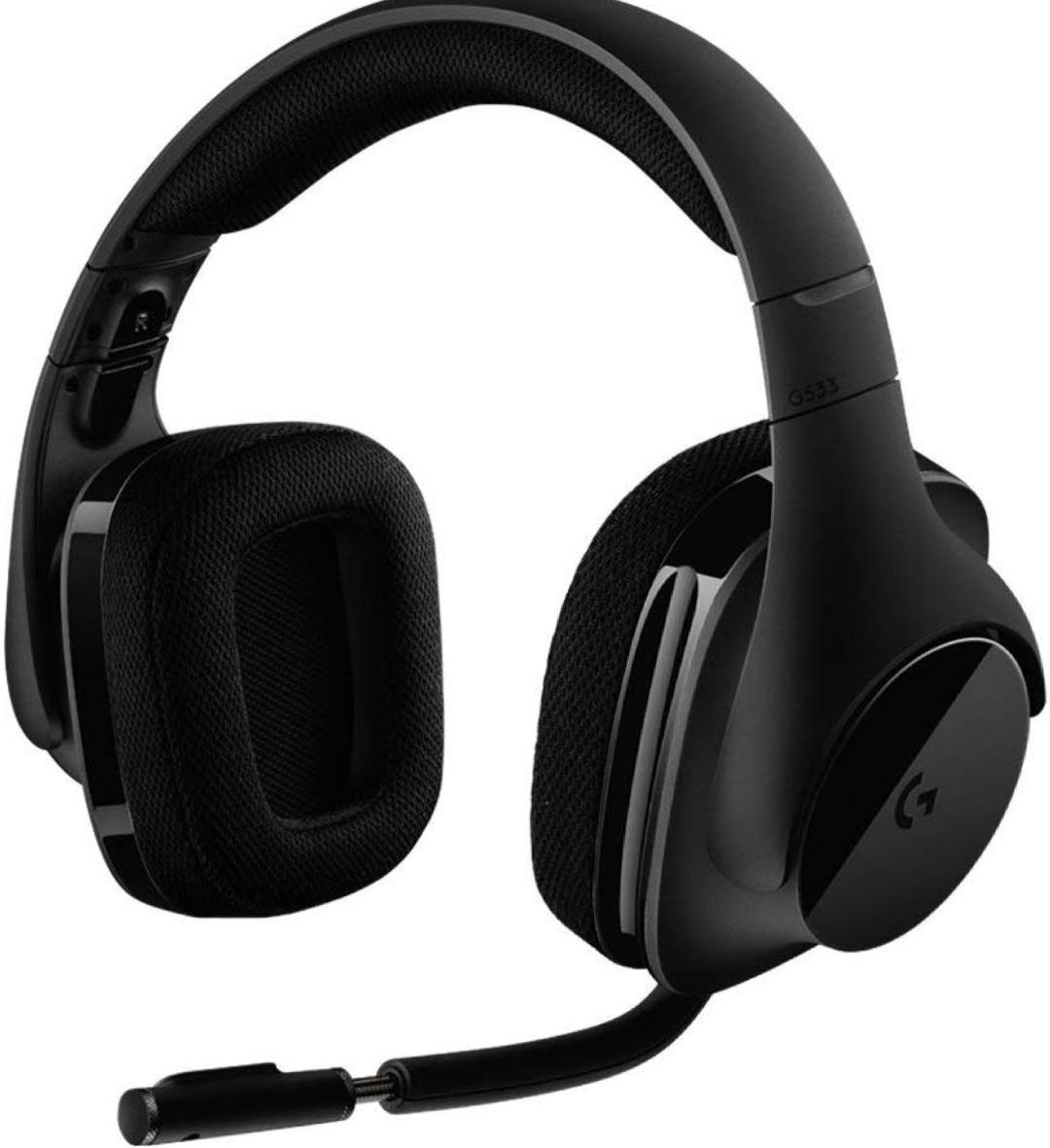 Auriculares Inalambricos Logitech G533 con micrófono y DTS 7.1