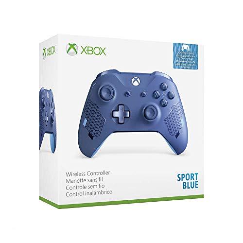 Microsoft - Mando inalámbrico, Sport Blue [Edición Especial] (Xbox One)