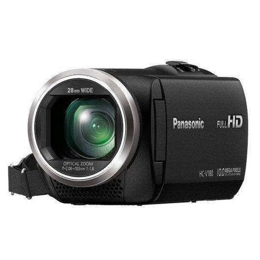 Panasonic HC-V180EC-K Videocámara 10MP 175€ SIN IVA 144,63€