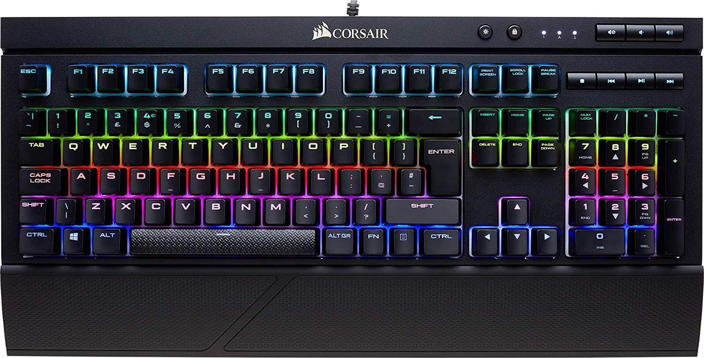 Teclado Corsair K68 RGB Switches Cherry MX Red