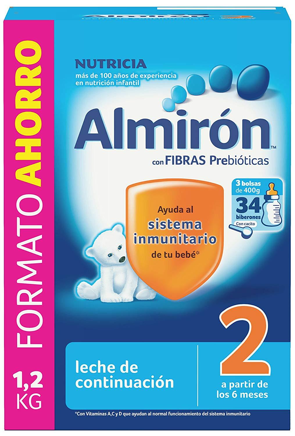 Almirón 2 Leche de continuación 1,2 kg