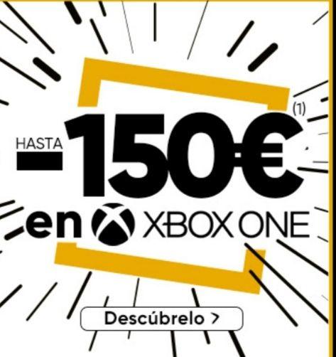 Descuentos de hasta 150€ en XBOX en FNAC