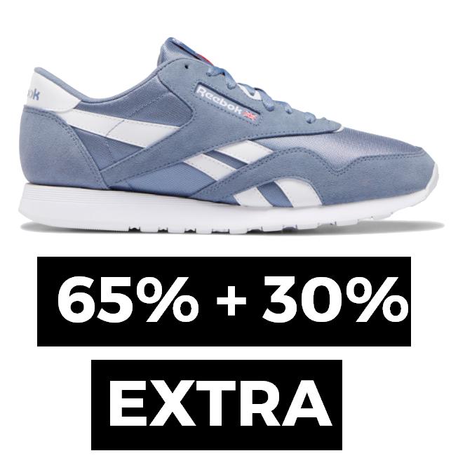 [Sólo en Chollometro] Precios nunca vistos 65% + 30% EXTRA en Reebok