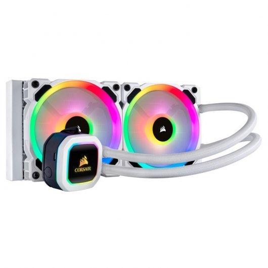 Corsair Hydro Series H100i RGB PLATINUM SE Kit de Refrigeración Líquida Blanco
