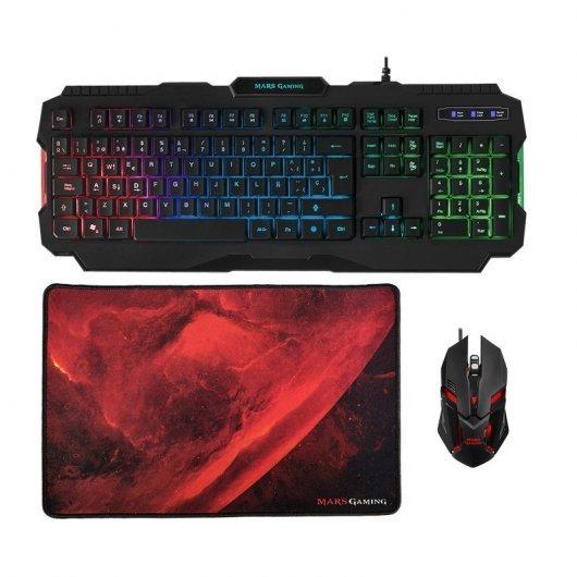 Mars Gaming RGB MCP118 Combo Gaming