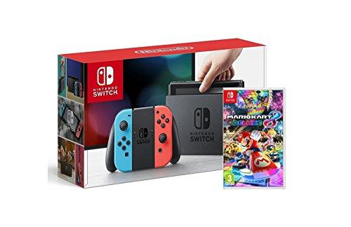 Nintendo Switch + Mario Kart 8 Deluxe