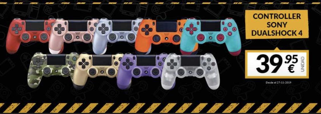 Dualshock 4 (en todos los colores) GAME