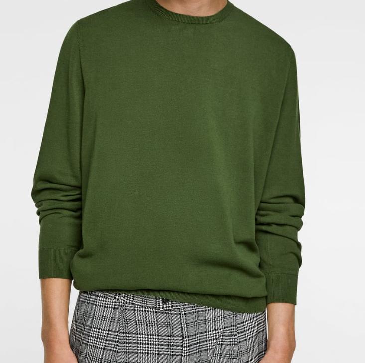 Jersey para hombre Zara 4 colores