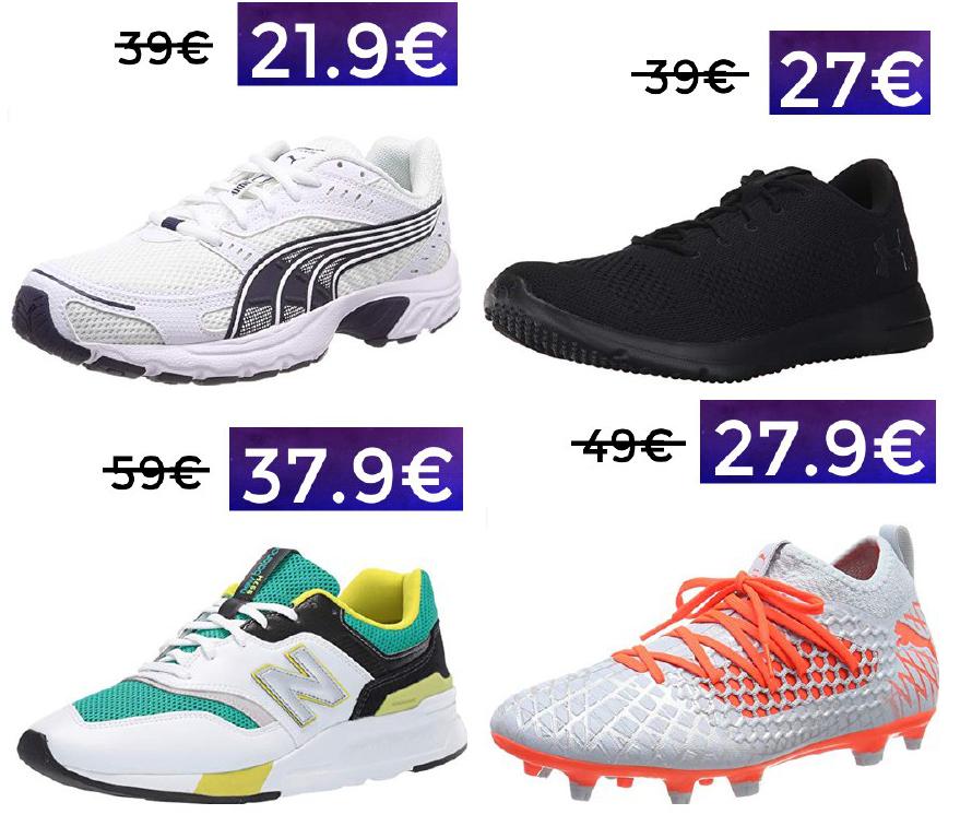 Hasta 40% de descuento en selección zapatillas