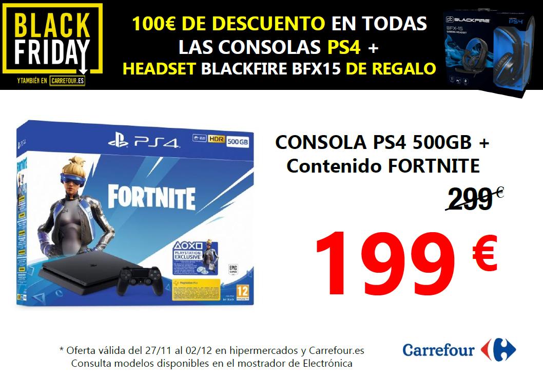 100€ Descuento en Todas PS4