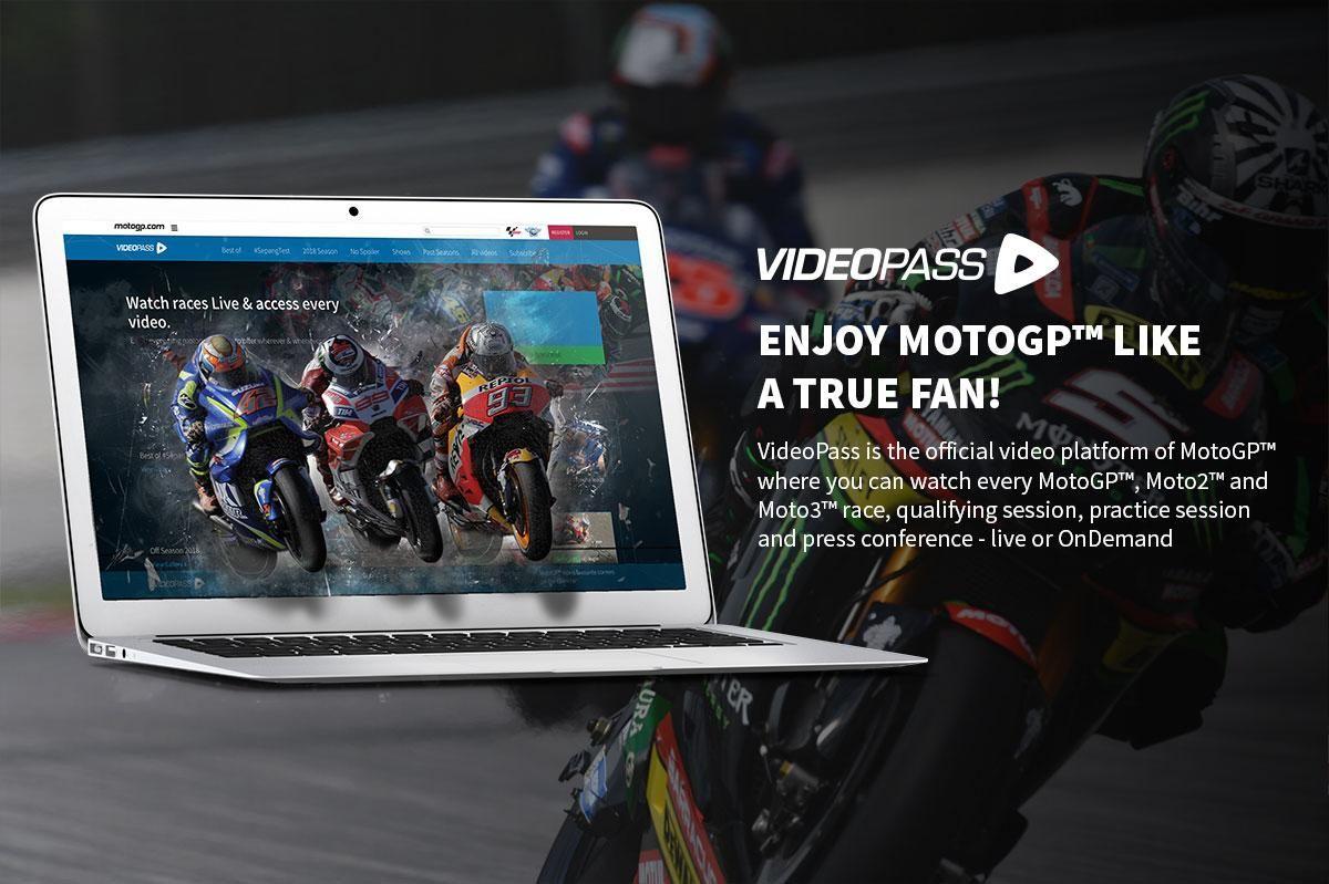 MotoGP VideoPass hasta Marzo 2020