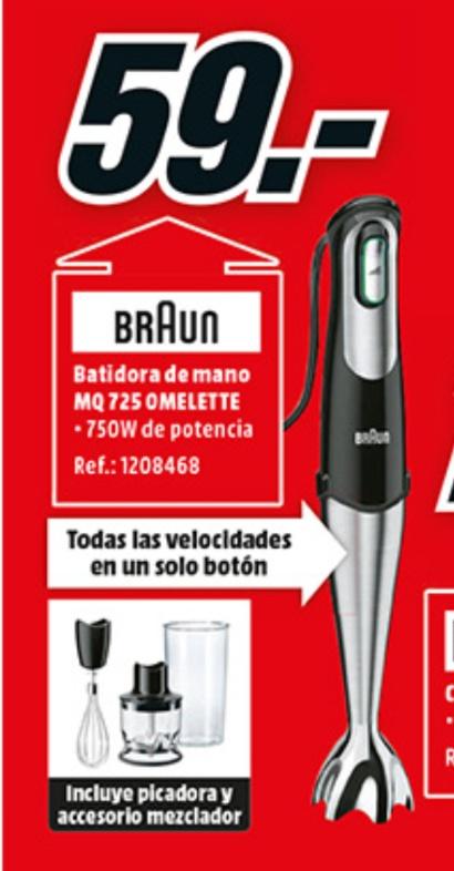 Batidora Braun minipimer 7 MQ725