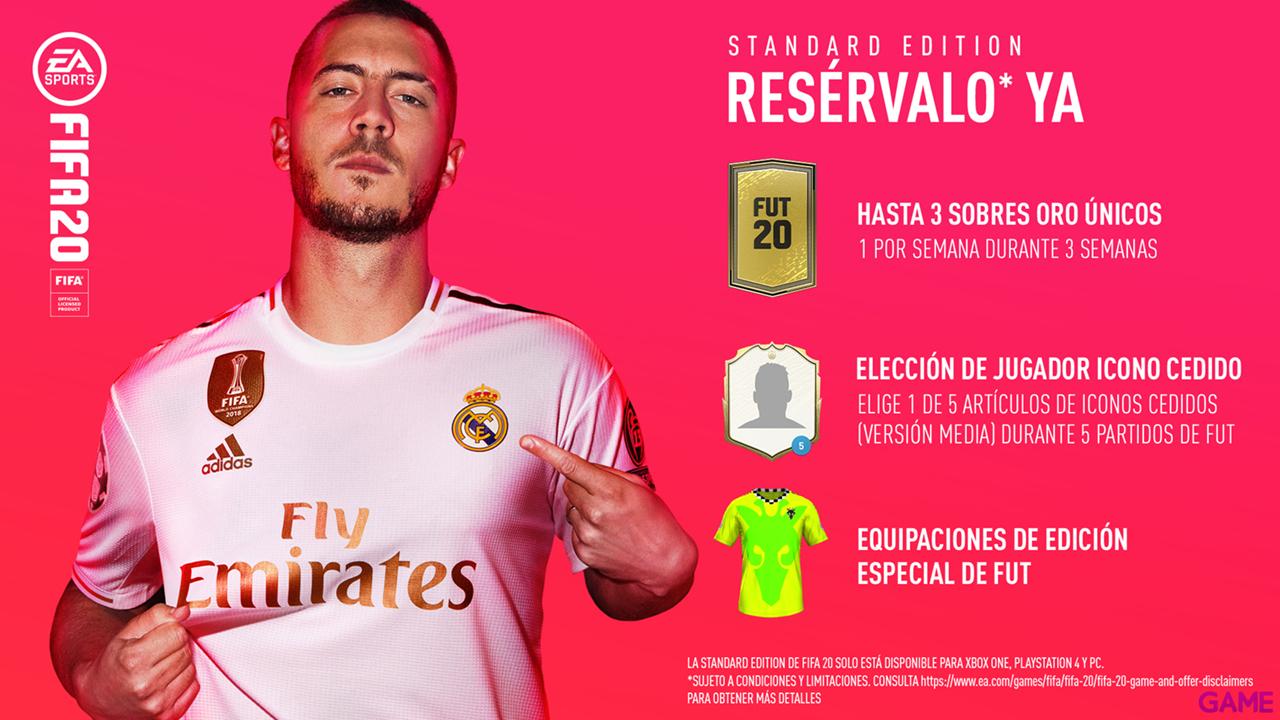 Fifa 20 ps4 + Camiseta de Regalo