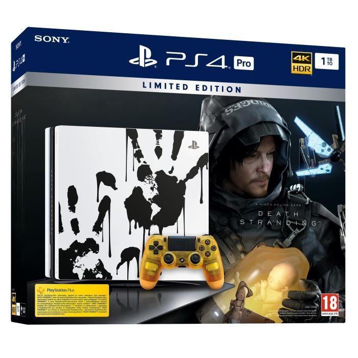 PS4 Pro edición limitada Death Stranding