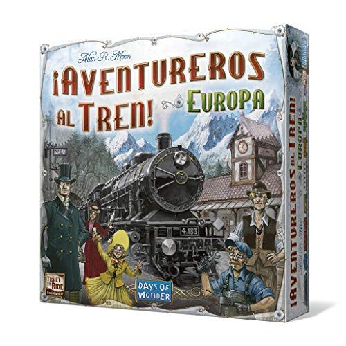 ¡Aventureros al tren! (Europa) - Juego de mesa