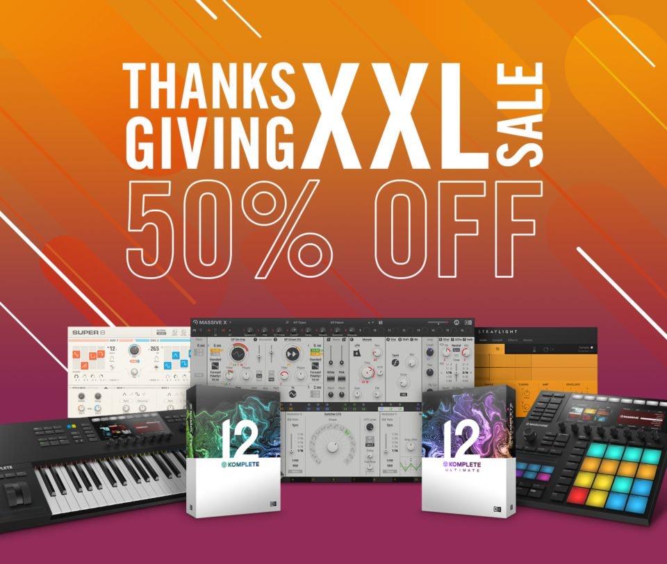 50% en Software Native Instruments