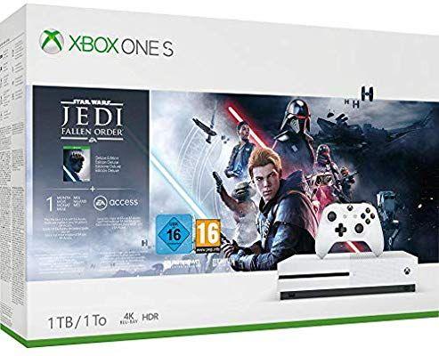 Consola 1 TB, Mando Inalámbrico + Star Wars Jedi: Fallen Order (Xbox One S)