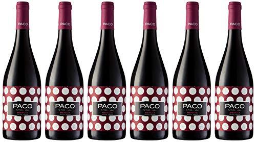 Pack de 6 botellas Paco & Lola Mencía Tinto